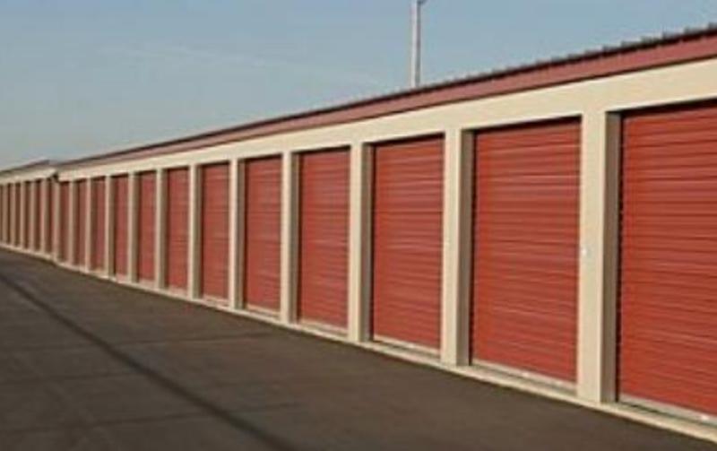 Pre-Engineered American Steel Storage Unit Building