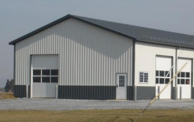 Pre-Engineered American Steel Building