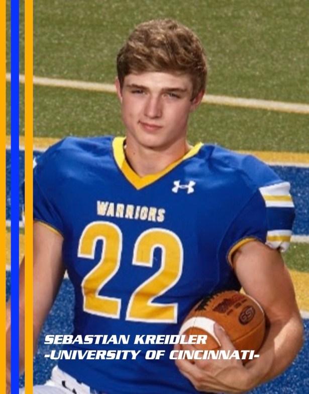 Sebastian Kreidler – Mariemont HS – University of Cincinnati