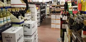 TriState Liquors has huge inventories of wines, beer and liquor