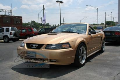 Tristate Mustang Club Ricks Gold 2000 GT Conv