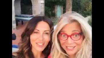 Mara Venier e Sabrina Ferilli un'accoppiata più che vincente ♥️♥️?