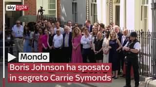 Con una cerimonia in gran segreto a Westminster, Boris Johnson ha sposato Carrie Symonds i…