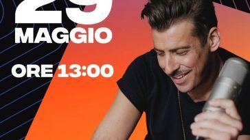 Francesco Gabbani vi terrà compagnia per un'ora intera sabato 29 maggio dalle 13! Il can…