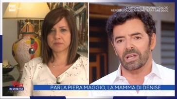 """Denise, intervista esclusiva a Piera Maggio: """"C'è chi sa e non collabora""""-Vita in diretta 22/06/2021"""