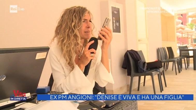 """L'ex Pm Angioni: """"Denise Pipitone è viva e ha una figlia"""" – La vita in diretta 14/06/2021"""
