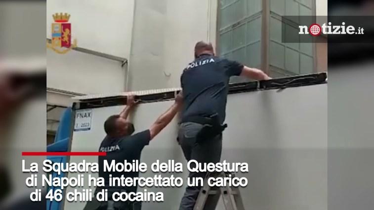 Napoli, 46 chili di cocaina nascosti nel tetto di un furgone: 32enne fermato in autostrada