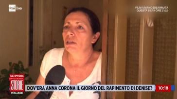 Scomparsa Denise: Francesca Adamo e la firma di Anna Corona – Storie italiane 07/06/2021