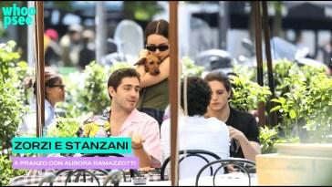 Zorzi e Stanzani: a pranzo con Aurora Ramazzotti