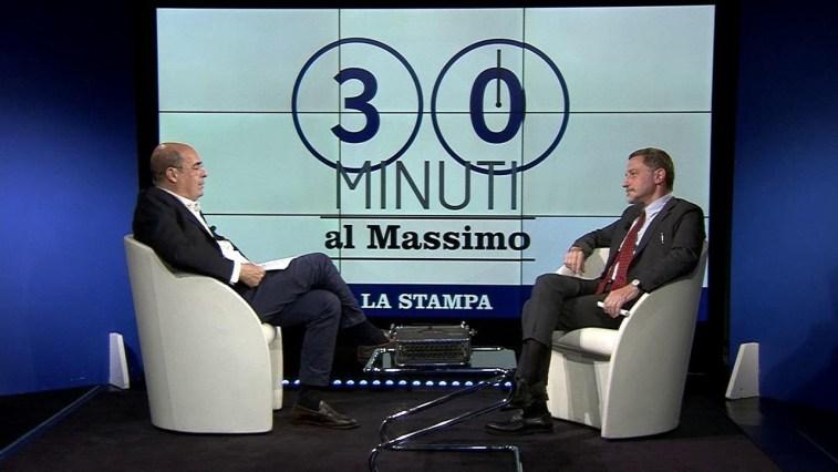 """""""30 minuti al Massimo"""", il direttore Massimo Giannini intervista Nicola Zingaretti"""