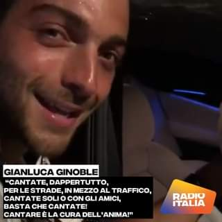 """""""Cantare è la cura dell'anima!"""" Come dare torto a Gianluca Ginoble de Il Volo? Bravissi…"""