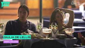 """Giulia De Lellis: """"Deeply in love"""""""