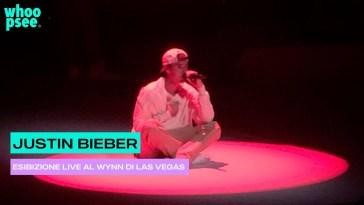 Justin Bieber, esibizione live al Wynn di Las Vegas