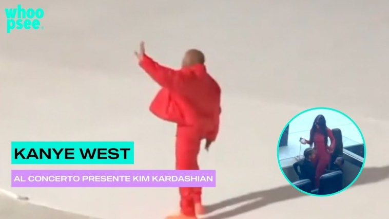 Kanye West, al concerto presente Kim Kardashian