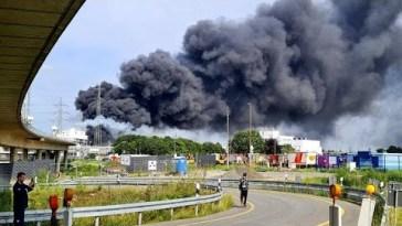 Leverkusen: esplosione in un inceneritore di rifiuti della Bayer: ci sono diversi feriti