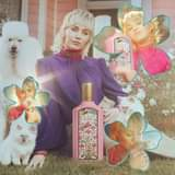 Miley Cyrus posa per la nuova fragranza di Gucci: Flora Gorgeous Gardenia.