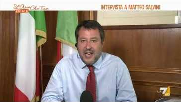 """Pestaggi in carcere, Matteo Salvini: """"La violenza va sempre condannata, chi usa violenza in …"""