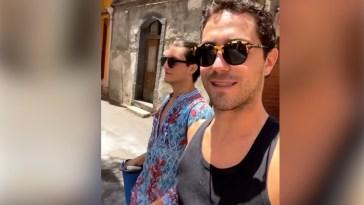 Tommaso Zorzi assieme a Tommaso Stanzani a Catania in vacanza #zorzani