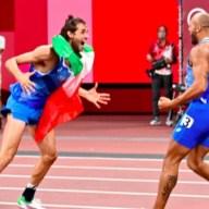 Tamberi e Jacobs oro nel salto in alto e nei 100 metri: i dieci storici minuti dello sport italiano
