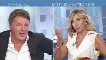 """Myrta Merlino a Matteo Renzi in versione arbitro: """"L'aspettavamo, ogni stagione ripartiamo con …"""