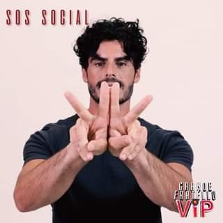 SOS SOCIAL Sempre così… Farete il tifo per Andrea Casalino? #Grande Fratello Vip