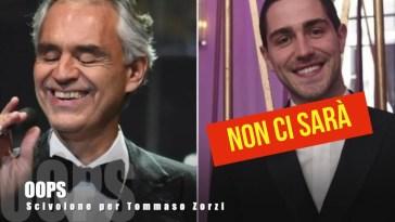 Scivolone per Tommaso Zorzi che non ritirerà il premio San Gennaro Day a Napoli