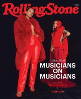 Alicia Keys e Kehlani occupano la terza copertina di Rolling Stone dedicata alla rubrica a…