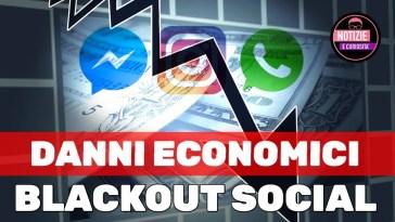 BLACKOUT SOCIAL: Stima dei Danni Economici. Instagram, WhatsApp e Facebook down. Oggi tutto risolto?