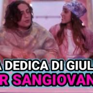 Grande Fratello Vip 6, la dedica di Giulia Stabile per Sangiovanni che ha fatto sciogliere i loro fan.