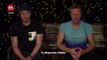 """I Coldplay a RTL 102.5: """"Un album pieno di amore, presto anche in Italia"""""""