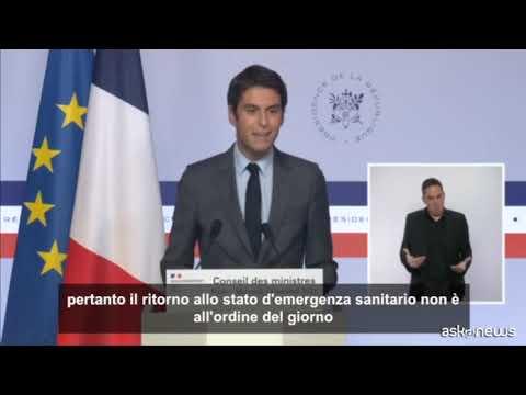 """La Francia prolunga la validità """"Pass Sanitaire"""" a luglio 2022"""