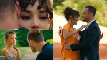 Love is in The Air ,Serkan rivede Eda dopo 5 anni ,incontra per la prima volta sua figlia Kiraz .