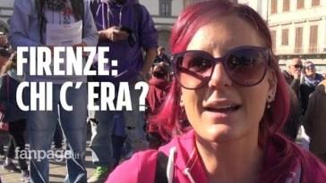 No green pass: ecco chi c'era (davvero) alla manifestazione a Firenze