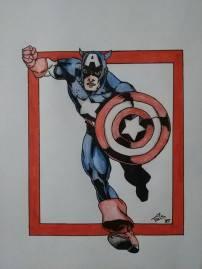 Captain America 13- aastasele poisile (A4)