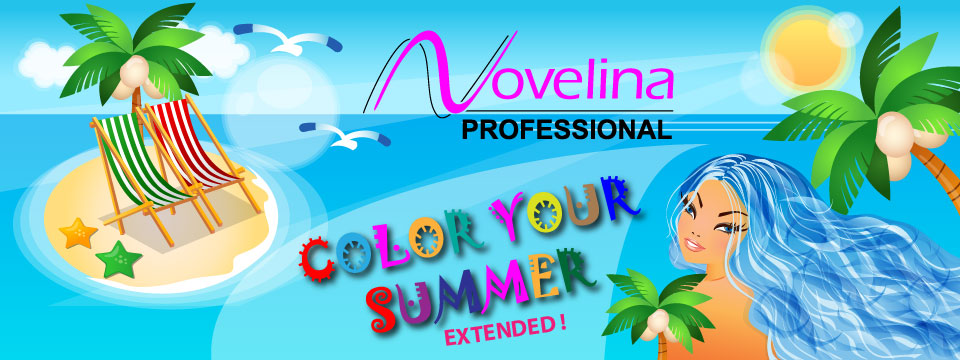 Novelina Color Your Summer Promo