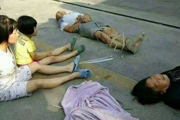 Gần đây, ở thôn Tiền Phong, huyện Tây Hương, Hán Trung tỉnh Thiểm Tây đã xảy ra một vụ bạo lực cưỡng chế san phẳng nhà gây rung động cộng đồng mạng