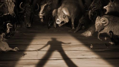 """Trại súc vật của George Orwell: Biếm họa sâu cay về """"các thế lực thù địch"""""""