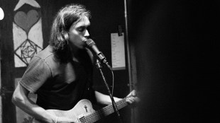Alex G croons at the Che Cafe (Raymond Arevalo / The Triton).