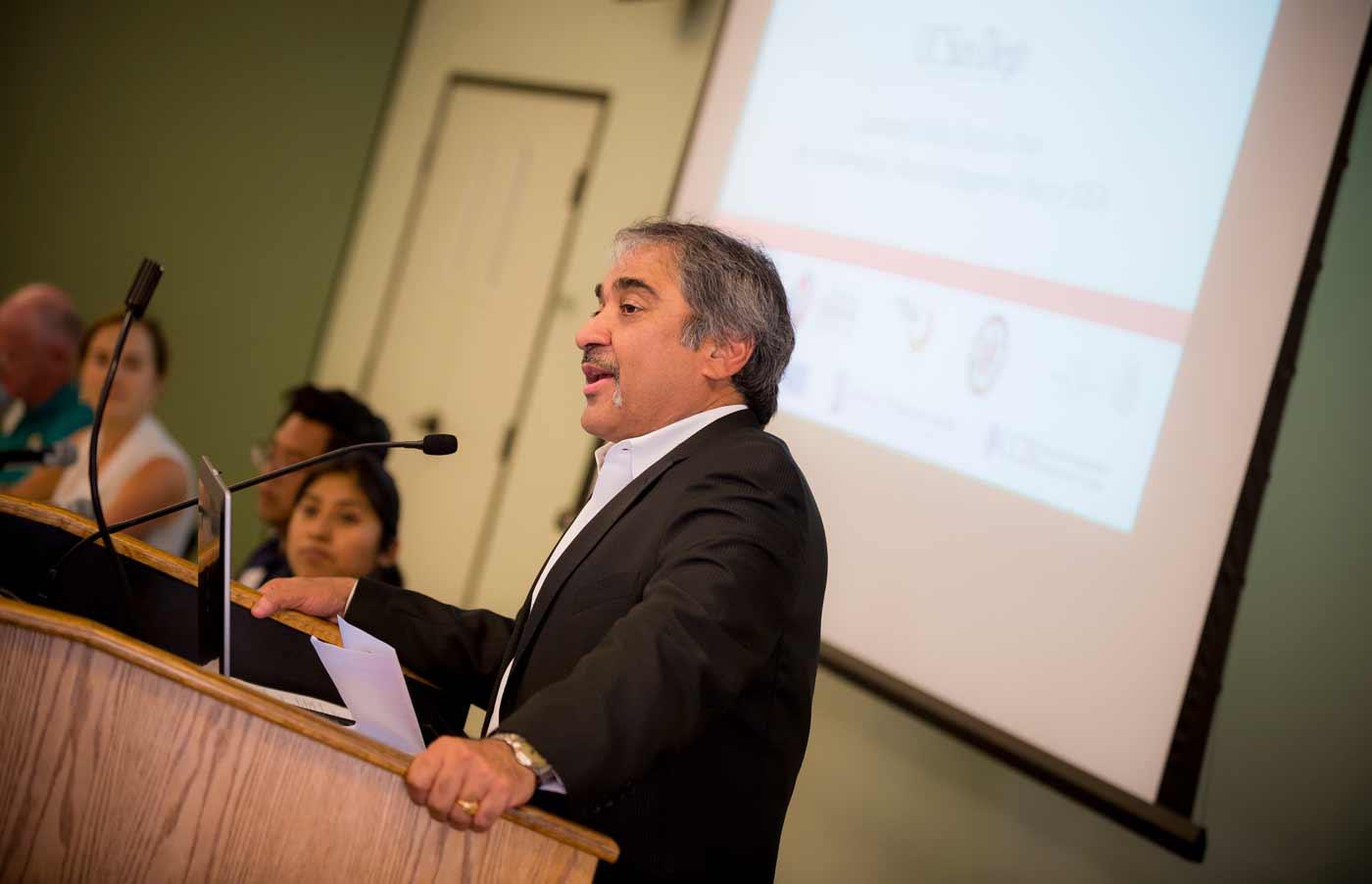 UCSD Chancellor Pradeep Khosla. Photo courtesy of University Communications.