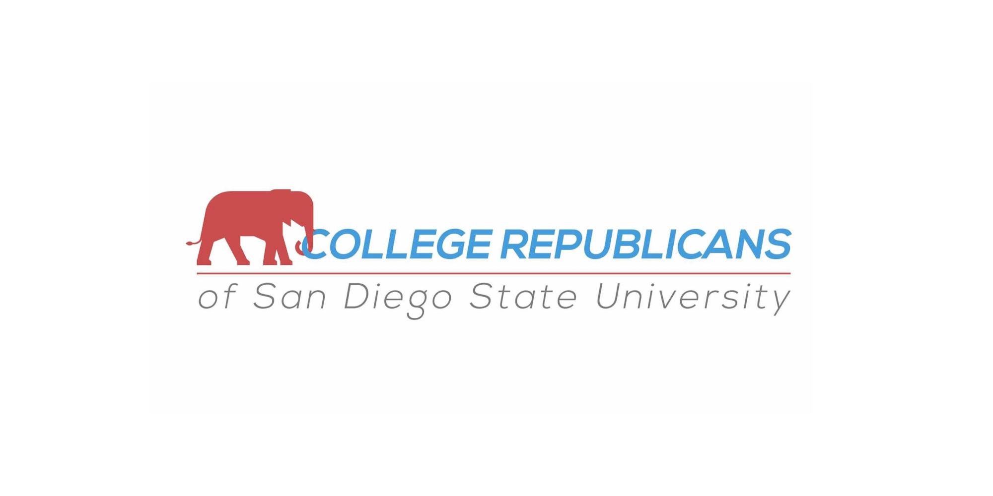 SDSU College Republicans logo.