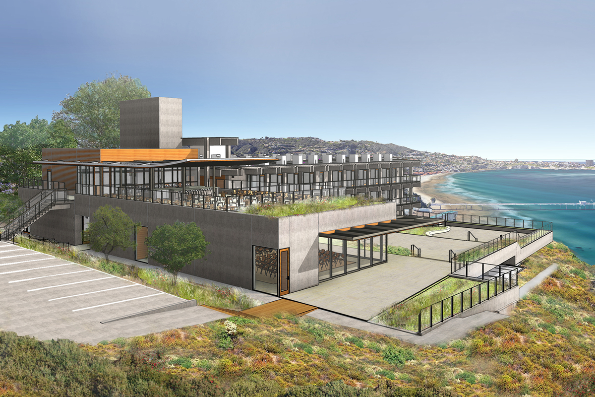 A rendering of the new facility. Photo courtesy of Safdie Rabines Architects.