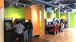 The arcade sits in Price Center West and is open to students 24/7/Rohan Grover.