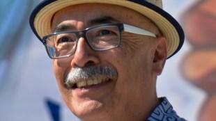 Image of Juan Felipe Herrera courtesy of Oregon State University.  Link to photo license.