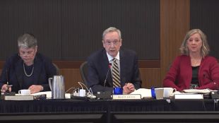 Image taken from UC Board of Regents March 14, 2018 meeting video.