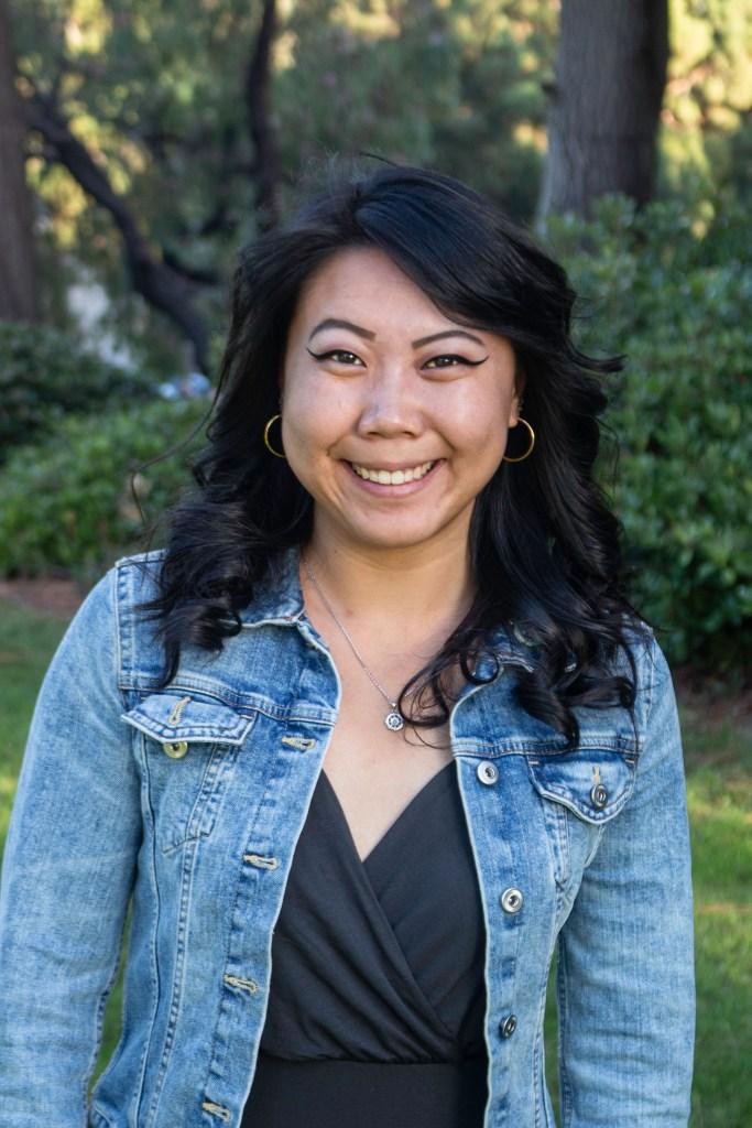 Photo of The Triton 2019-20 Editor-in-Chief Ella Chen during Fall Quarter 2019. Photo taken by Kristina Stahl