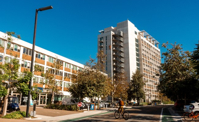 Photo of The Village dorms at UCSD, where transfer students will live until it turns into Seventh College.