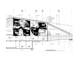 Schematic for Barbara Kruger's Another in the Price Center