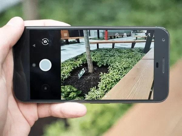 Machine learning được sử dụng mỗi lần ta chụp ảnh.