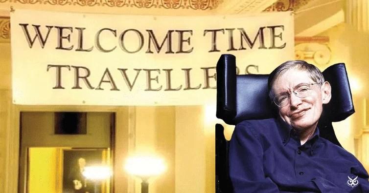 Bữa tiệc sâm panh đặc biệt của Stephen Hawking