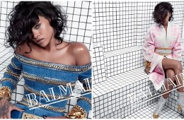 Rihanna for Balmain Paris ss 2014
